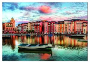 """""""Portofino, Italien"""" von Educa"""