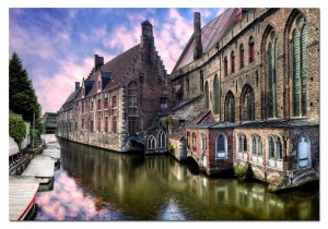 Bruges, Belgium HDR