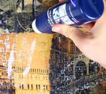 Ein Puzzle kleben und aufhängen – Eine Anleitung!
