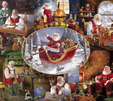 Weihnachtlicher Puzzlespaß