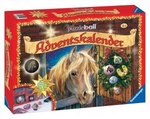 Adventskalender - 60 Teile Puzzleball - Ravensburger