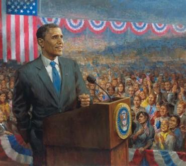 Künstlerische Obamania – jetzt als Puzzle