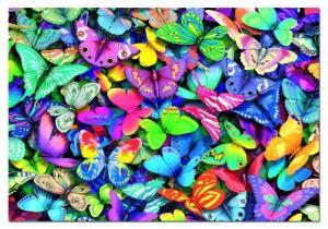 Butterflies - 500 Teile Querformat Puzzle - Educa