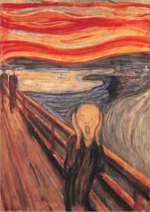 Der Schrei - Edvard Munch 1000 Teile Hochformat Puzzle - Editions Ricordi Art Stones