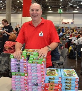 Herr Schmitz bei den Puzzle-Championship in Leipzig