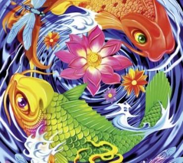Tattoo-Art Puzzle von Schmidt Spiele
