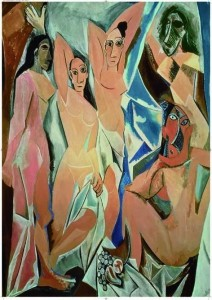 Les Demoiselles d'Avignon - Pablo Picasso 2000 Teile Puzzle - Ricordi GOLD