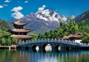 Lijiang - China 2000 Teile Puzzle - Clementoni