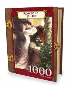 Romeo und Julia - Buch-Box - 1000 Teile Hochformat Puzzle - Classic Books - Masterpieces Puzzle