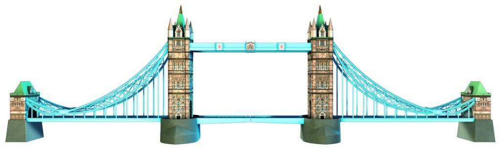 Tower Bridge - London - 216 Teile 3D-Puzzle - Ravensburger