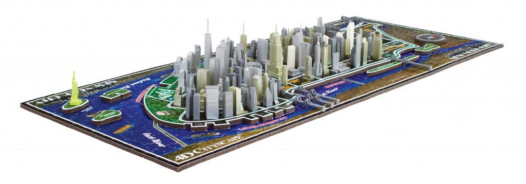 New York - 700 Teile 4D Puzzle - Jumbo