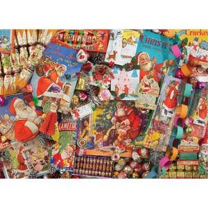 Weihnachtserinnerungen - 1000 Teile Querformat Puzzle - Gibsons