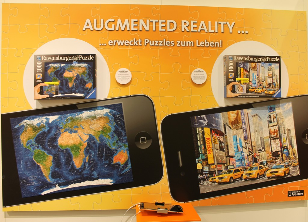 Neuer Trend - Augmented Reality Puzzle