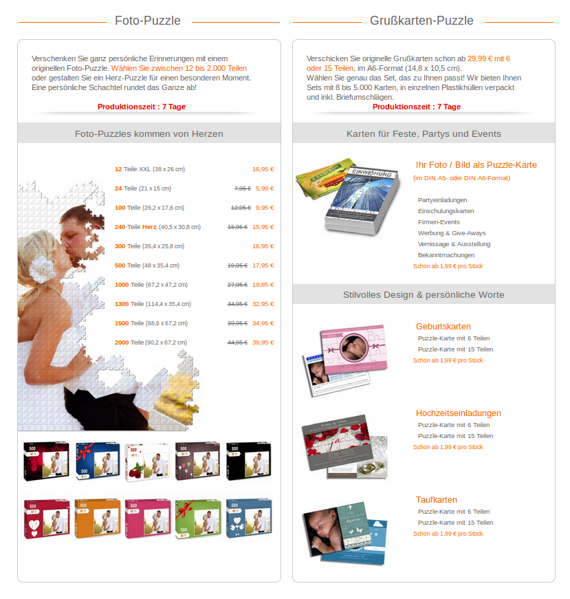 Screenshot Fotopuzzle