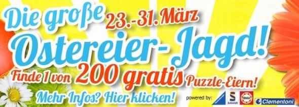 Die große Puzzle.de-Ostereier-Jagd – Puzzle.de verschenkt Puzzles im Wert von 4.000 €!