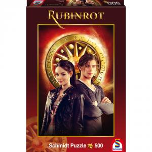 Rubinrot Puzzle von Schmidt Spiele