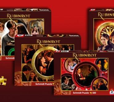 Neu von Schmidt Spiele: Rubinrot Puzzle – die Puzzles zum Kinofilm