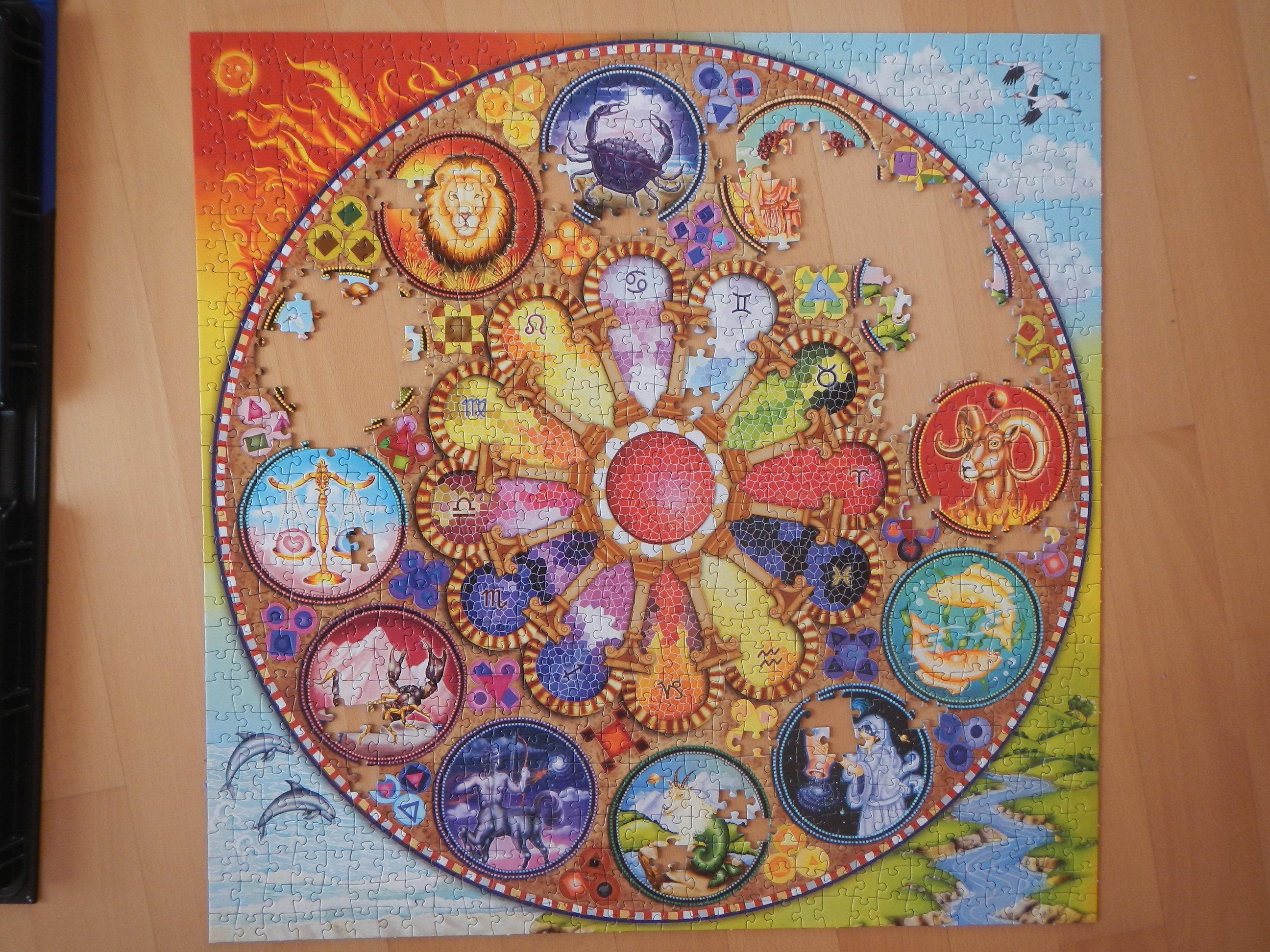Das Sommer-Puzzle - Mandala Puzzle!