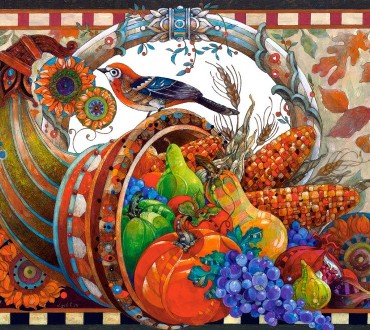 Castorland Puzzle – Mit Blumenpracht und Babycharme in den Herbst