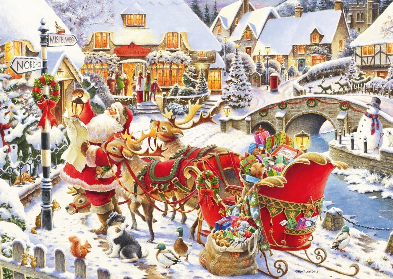 Ravensburger Puzzle Santa Claus