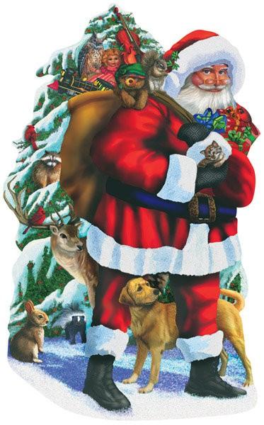 Sunsout Puzzle Santa Claus