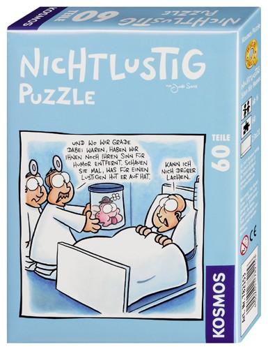 Nichtlustig Puzzle Sinn für Humor