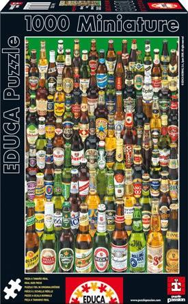 Minipuzzle Micro Puzzle Bier