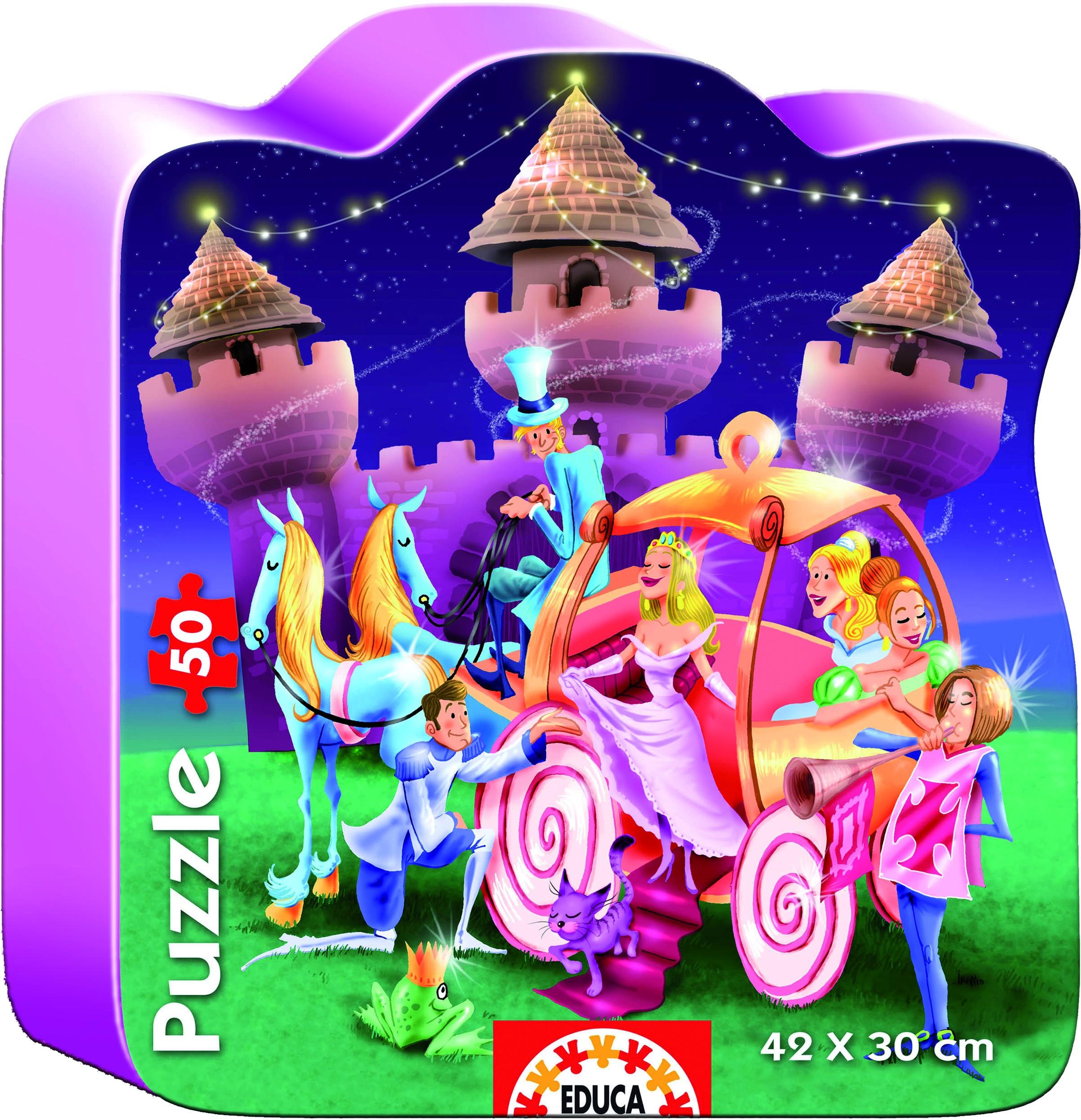 Minipuzzle Micro Puzzle Schloss