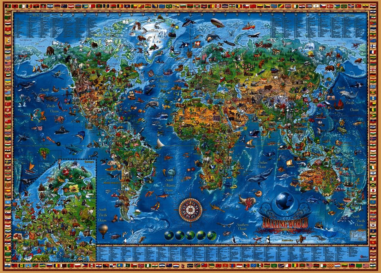 Die besten Puzzles 2013 Amazing World