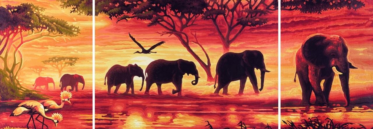Die besten Puzzles 2013 elefantenkarawanenoristryptypz2x5001000_00