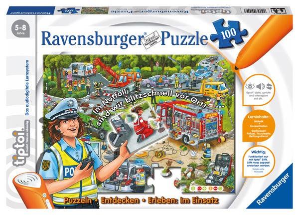 Multimedia Puzzle Feuerwehr
