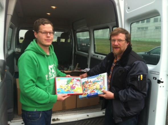 Puzzle Spende für Waisenkinder in Moldawien
