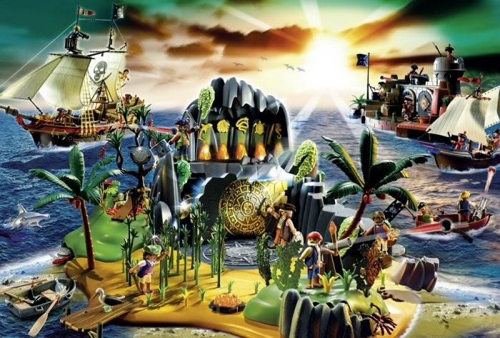 Playmobil Puzzle Pirat