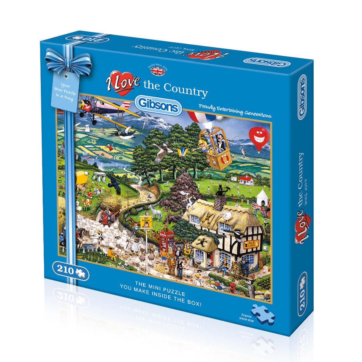 Gibson Puzzle Land